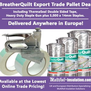 BreatherQuilt Export Trade Pallet Offer