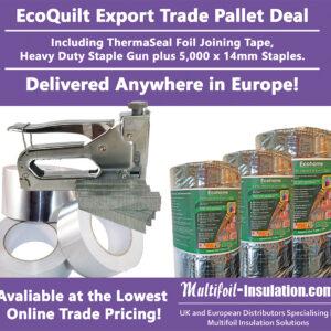 EcoQuilt Export Trade Pallet