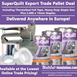 SuperQuilt Export Trade Pallet Offer MF1